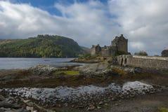 Eilean Donan Castle, lago Duich, Scozia, Regno Unito Fotografie Stock Libere da Diritti