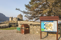 Eilean Donan Castle on Loch Duich in Scotland. Stock Photo