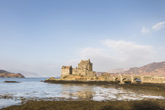 Eilean Donan Castle on Loch Duich in Scotland. Royalty Free Stock Images