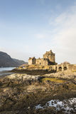 Eilean Donan Castle on Loch Duich in Scotland. Stock Images