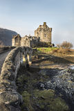 Eilean Donan Castle on Loch Duich in Scotland. Stock Image