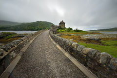 Eilean Donan Castle, Loch Duich, Scotland, UK Royalty Free Stock Photography