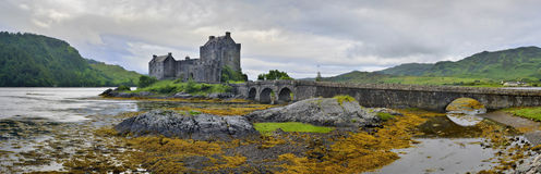Eilean Donan Castle, Loch Duich, Scotland, UK Stock Photos
