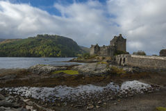 Eilean Donan Castle, Loch Duich, Scotland, UK Royalty Free Stock Photos