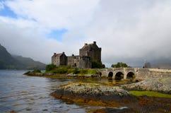 Eilean Donan Castle at Loch Duich Royalty Free Stock Photo