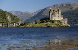 Eilean Donan Castle, Loch Duid, Hooglanden, Schotland, het Verenigd Koninkrijk Stock Foto
