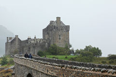 Eilean Donan Castle most famous castle in Scotland Stock Photo