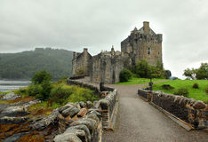 Eilean Donan Castle most famous castle in Scotland Stock Image