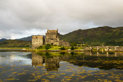 Eilean Donan Castle 2nd September 2015 Royalty Free Stock Photo