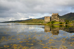 Eilean Donan Castle 2nd September 2015 Royalty Free Stock Photography