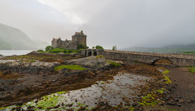 Eilean donan castle. One of the most iconic images of Scotland Stock Image