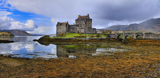 The Eilean Donan Castle Royalty Free Stock Photo