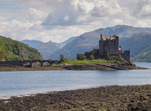 Eilean Donan Castle, Schotse Hooglanden Stock Foto's