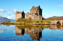 Eilean Donan Castle, Scotland Royalty Free Stock Images