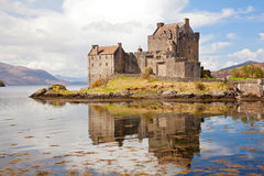 Eilean Donan Castle Scotland Royalty Free Stock Images
