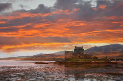 Eilean Donan castle, Scotland Stock Photography