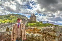 Eilean Donan Castle Scotland Royalty Free Stock Photography