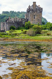 The Eilean Donan castle in Scotland Royalty Free Stock Images