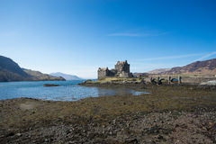 Eilean Donan Castle, scotland, Isle, of, skye Royalty Free Stock Photo