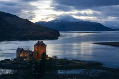 Eilean Donan Castle, Scotland Stock Photos