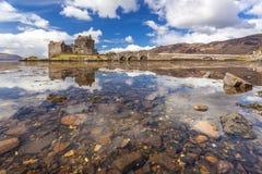Eilean Donan Castle Scotland Stock Photo
