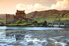 Eilean Donan Castle, Scotland Royalty Free Stock Photos