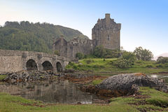 Eilean Donan Castle, Scotland, Royalty Free Stock Photos