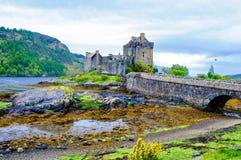 Eilean Donan Castle in Scotland, UK Royalty Free Stock Photography