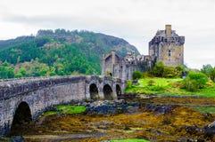 Eilean Donan Castle in Scotland, UK Royalty Free Stock Photos