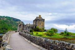 Eilean Donan Castle in Scotland, UK Stock Photo