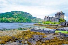 Eilean Donan Castle in Scotland, UK Stock Images