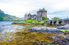 Eilean Donan Castle in Scotland, UK Royalty Free Stock Image