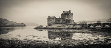 Eilean Donan castle in Scotland, UK. Royalty Free Stock Photos