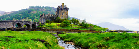 Eilean Donan Castle in Scotland, UK Royalty Free Stock Images