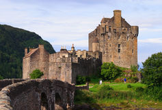 Eilean Donan castle Scotland Stock Photo