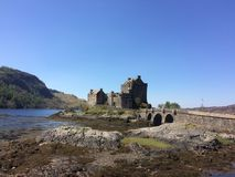 Eilean Donan Castle. A Scottish Castle stock image
