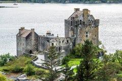 Eilean Donan castle at Scottish highlands Stock Photography