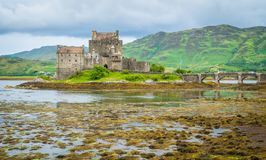 Eilean Donan Castle in the Scottish Highlands. Royalty Free Stock Image