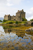 Eilean Donan Castle 2 settembre 2015 Fotografia Stock Libera da Diritti