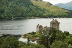 Eilean Donan Castle. View of Eilean Donan Castle (Highland of Scotland Stock Photos