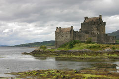Eilean Donan in the Highlands stock images