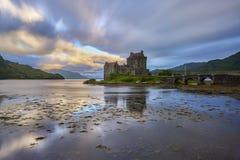 Eilean Donan kasztel, Loch Duich, Szkocja, UK Zdjęcia Royalty Free