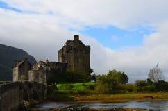 Eilean Donan Landscape on Loch Duich Royalty Free Stock Images