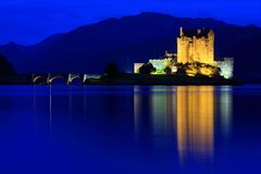 Eilean Donan Schloss Lizenzfreie Stockfotografie