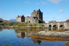 Eilean Donan Schloss, Schottland Stockfotografie