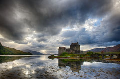 Eilean Donan Schloss (Schottland) Lizenzfreies Stockbild