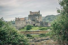 Eilean Donan Schloss Schottland lizenzfreie stockfotos