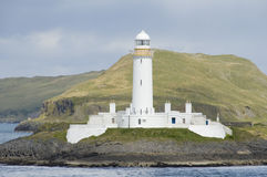 Eilean Musdile lighthouse Royalty Free Stock Image