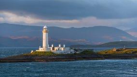 Eilean Musdile Lighthouse Royalty Free Stock Photos