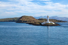 Eilean Musdile Lighthouse Stock Photo